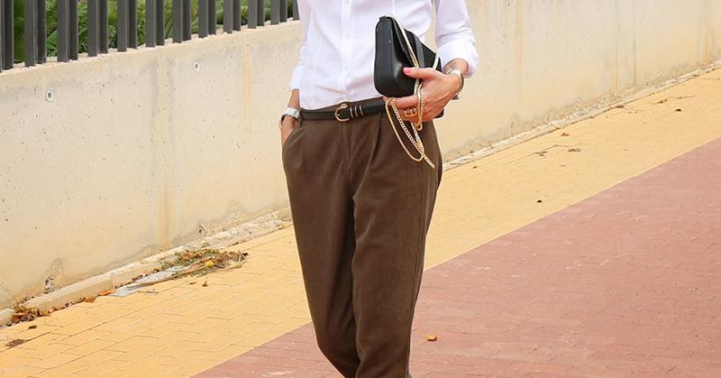 стильные брюки багги