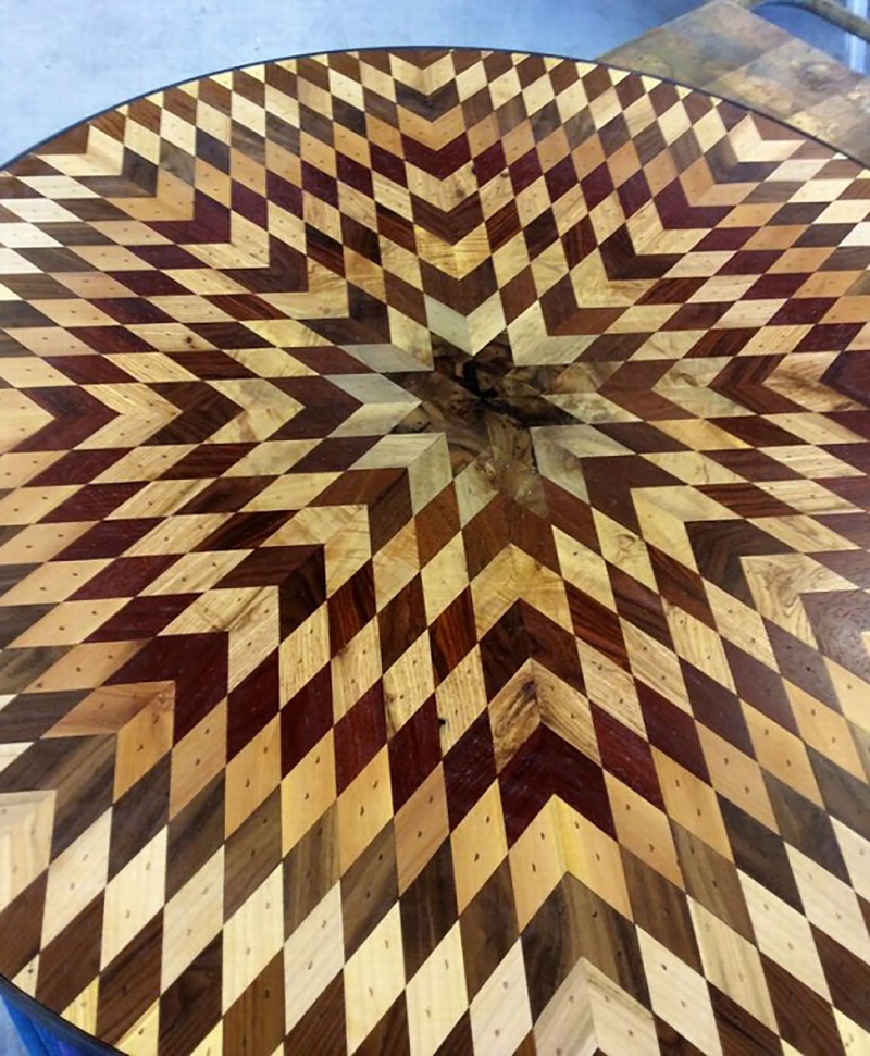 обработка деревянных столешниц