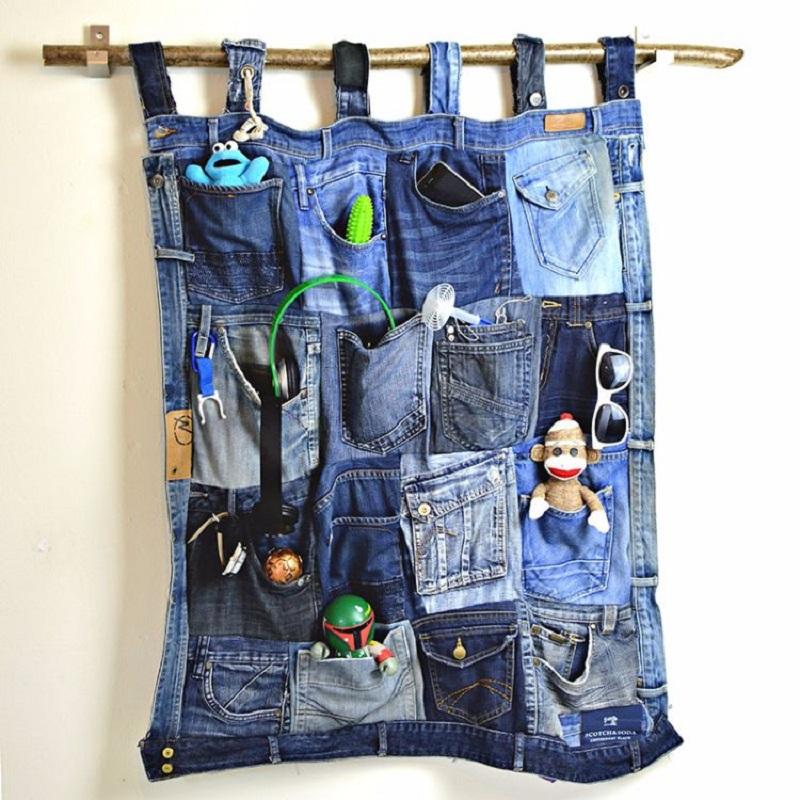 что сделать из старых джинсов своими руками фото