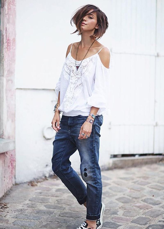джинсовые багги