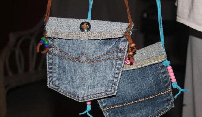 сумка из джинсовой ткани своими руками