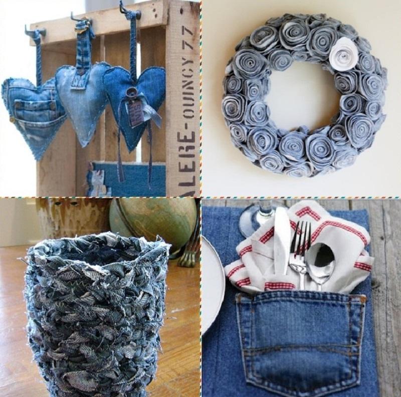что сделать из джинсовой ткани