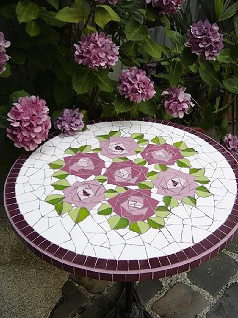 мастер класс мозаика из битой плитки