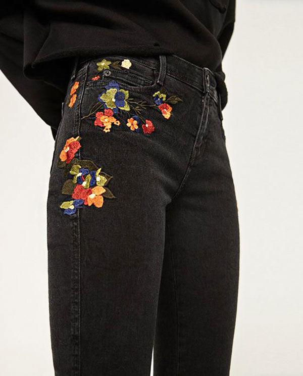 джинсовый декор