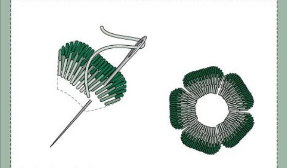 БОЛЬШАЯ подборка швов и строчек для ручной вышивки... Это стоит сохранить! (Часть 2)
