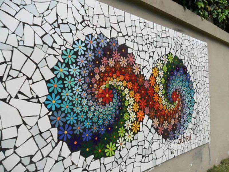 мозаика из плитки своими руками