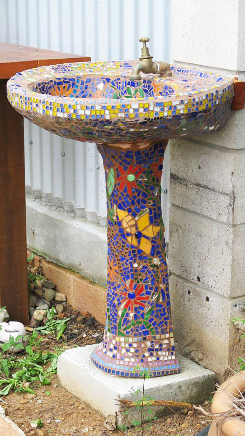 мозаика из плитки на пол