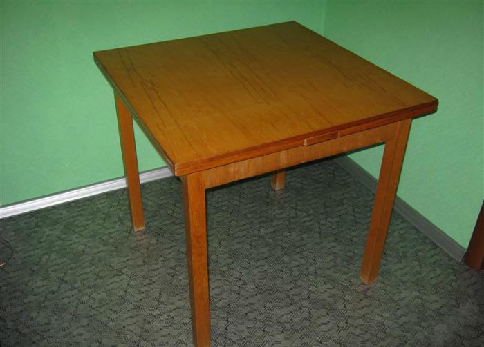 как обновить стол