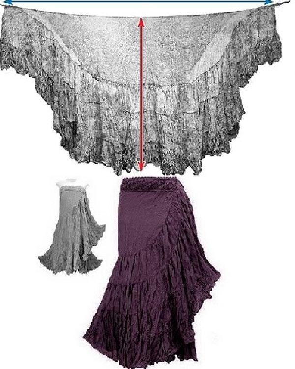 Модели в стиле БОХО: шить или не шить...