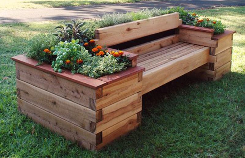 садовая мебель из дерева чертежи