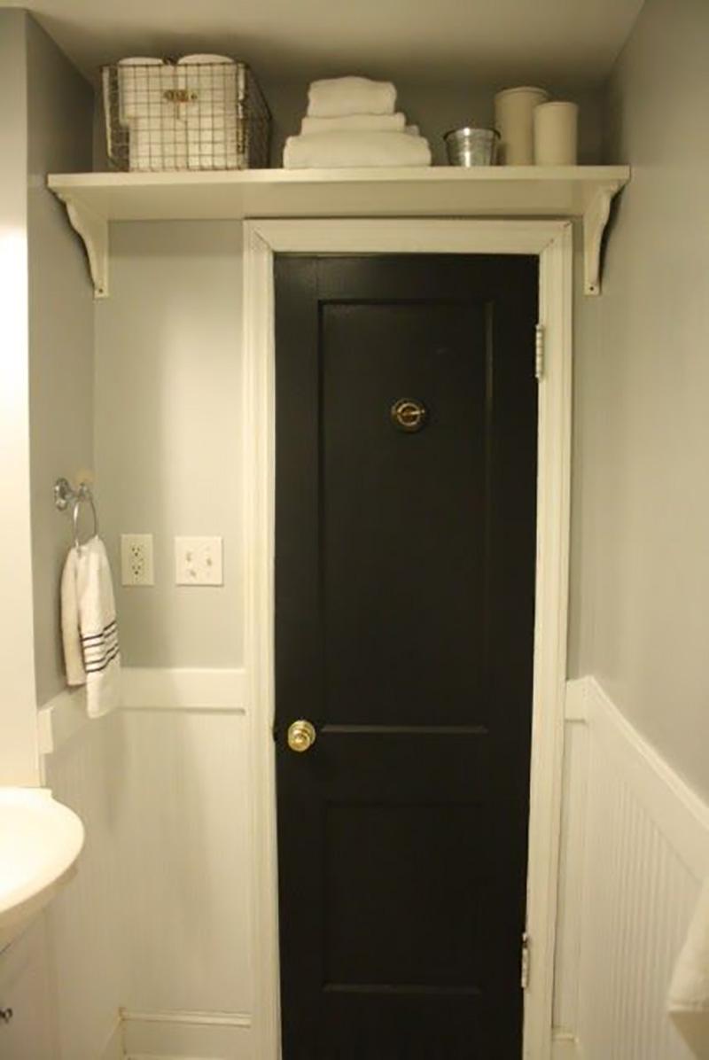 идеи дизайна узкой ванной комнаты