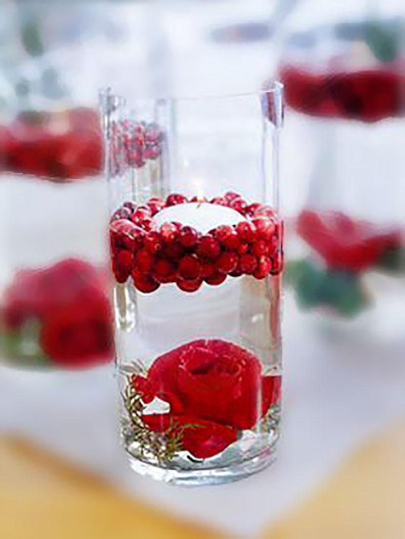цветы в бокале своими руками