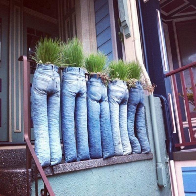 сшить из старых джинсов сумку