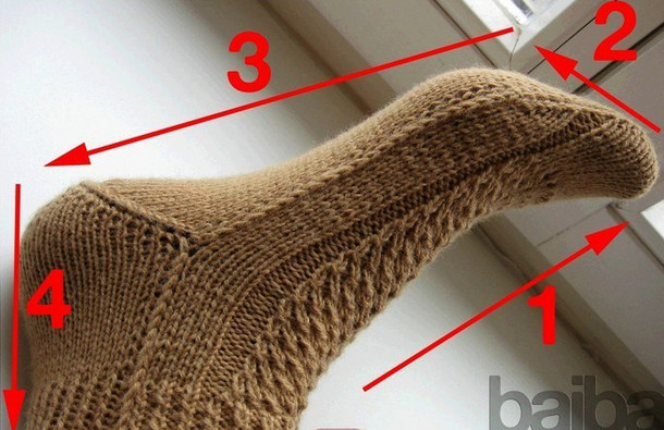 ciorapi tricotați de varicoză