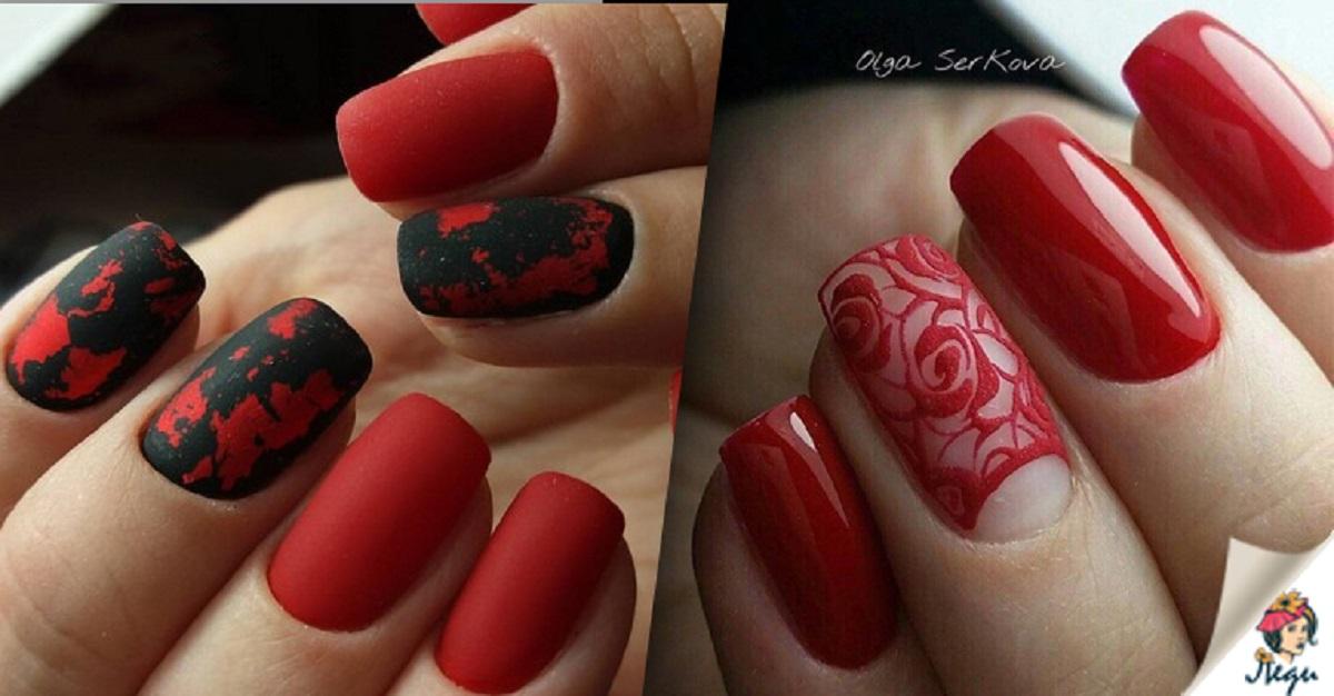 Toamna E Sezonul Culorii Roșii 16 Exemple Superbe De Manichiură
