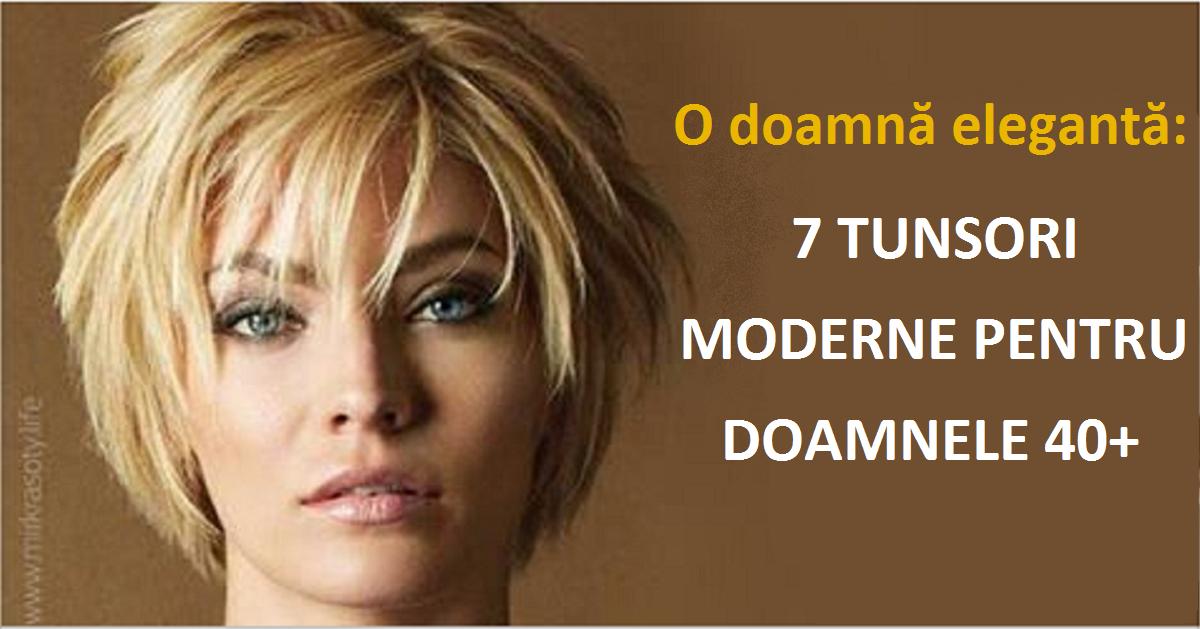 O Doamnă Stilată 7 Tunsori Moderne Pentru Femeile 40 Fasingur