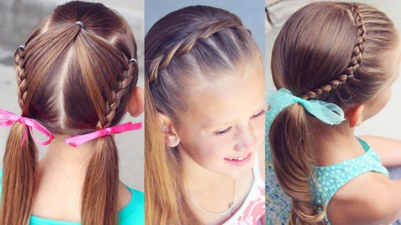 6 Coafuri Frumoase Pentru Fetițe Ideale Pentru Petreceri și