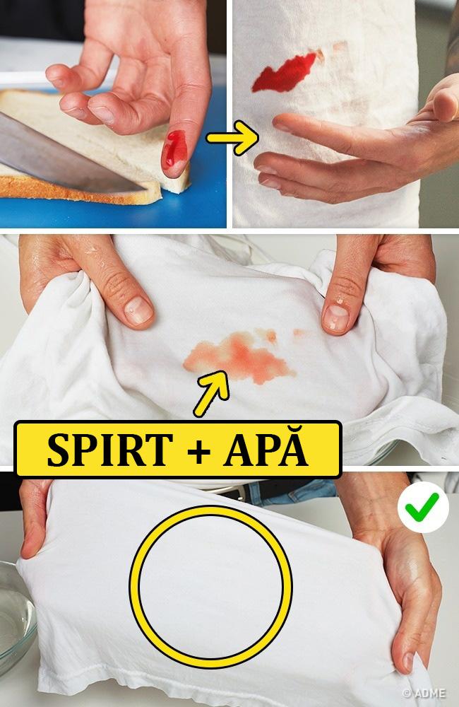 curatare sange uscat)