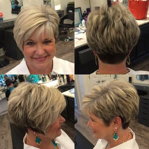Tunsori Pentru Părul Scurt Perfecte Pentru Femeile Trecute