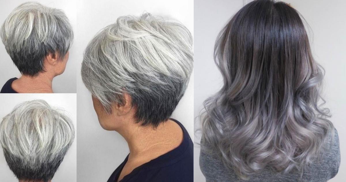 Blond Argintiu 10 Modele Inspirate De Ombre Gri Pentru Un