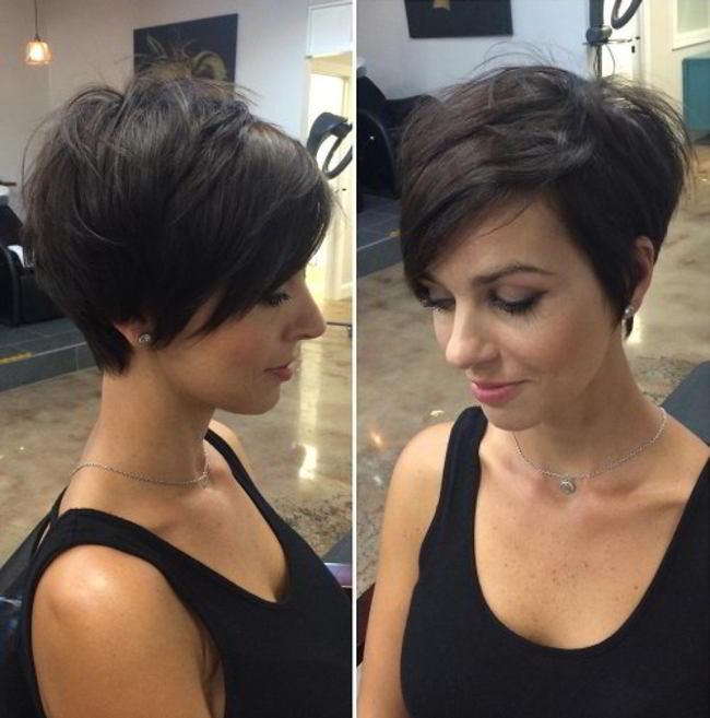 Cele Mai Stilate 25 De Tunsori Stratificate Pentru Părul Scurt